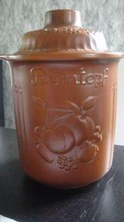 Rumtopf / Töpfe- Keramik-