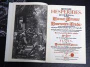 2 Faksimile-Bände Nürnbergische Hesperides