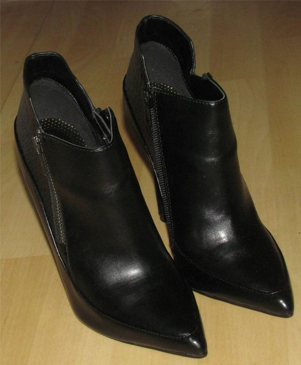 e47e4f70c631 schwarze Ankle Boots Stiefeletten von  Paper Dolls  Gr. 36 in ...