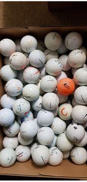 100 gebrauchte Golfbälle zum Cross-Golfen