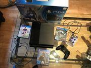 Verkaufe PS4 + 6