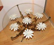 Florentiner Tisch Couchtisch Blüten Blätter