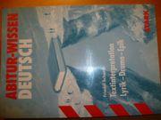 Abitur-Wissen Deutsch