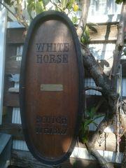 White Horse Scotch Whysky Holzfass