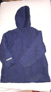 Winterjacke dunkelblau für Jungs Größe