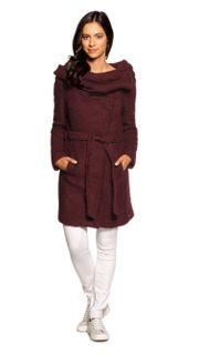 Tigha Damen Woll Mantel