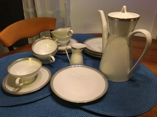 rosenthal kaffeeservice 60er jahre in m nchen glas porzellan antiquarisch kaufen und. Black Bedroom Furniture Sets. Home Design Ideas