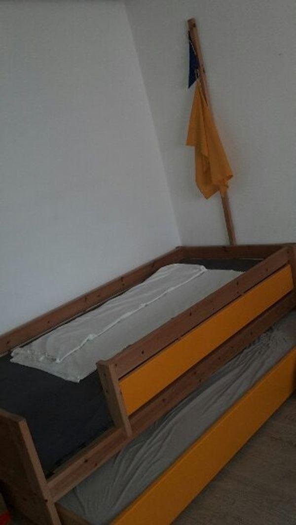 Bett Mit Bettkasten Und Piratenmast In Bruhl Kinder Jugendzimmer