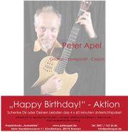Happy Birthday-Aktion: