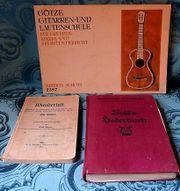 Liederbücher, alt, 3