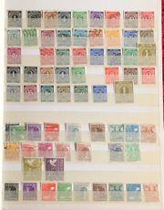 Briefmarkenalbum Deutschland gestempelt