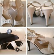 Italienische Leder Sandalen in Gr