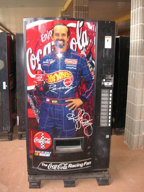 Getränkeautomat, Coca Cola - Rennfahrer in Kaiserslautern - Alles ...