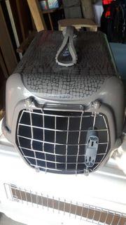 Hunde transport box gebr Zu