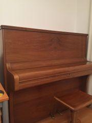 Klavier in Nussbaum,