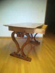 Alter Antiker Holz Tisch