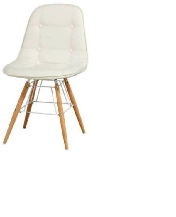 Stuhl Skandinavisches Design Weiß NEU